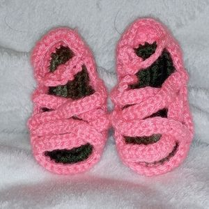 Knitted Handmade Baby Sandals